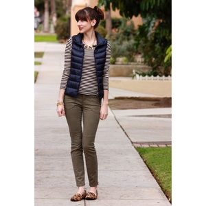 Uniqlo Navy Blue Down Puffer Vest
